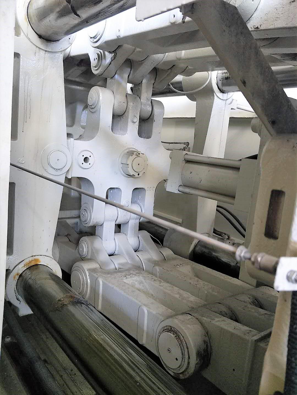 Kawaguchi 360t (servo) used Injection Molding Machine
