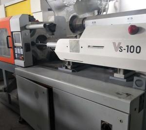 وکٹر 100t VS-100 استعمال شدہ انجکشن مولڈنگ مشین