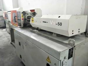 وکٹر 50t VS-50 استعمال شدہ انجکشن مولڈنگ مشین