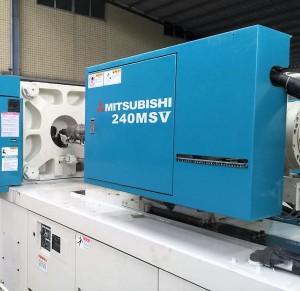 دوستسبشی 240t (240MSV) استعمال شدہ انجکشن مولڈنگ مشین