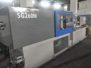 Sumitomo 260t SG260M (iyara to gaju) ti a lo Ẹrọ Mọnsi Injection.