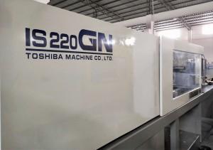 Toshiba 220t IS220GN (V21 Control) იყენებდა ინჟექციის ჩამოსხმის მანქანას
