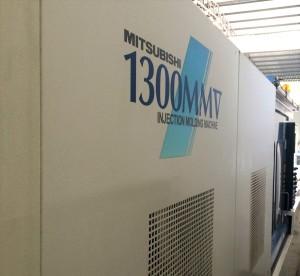 دوستسبشی 1300t (1300MMV) استعمال شدہ انجکشن مولڈنگ مشین