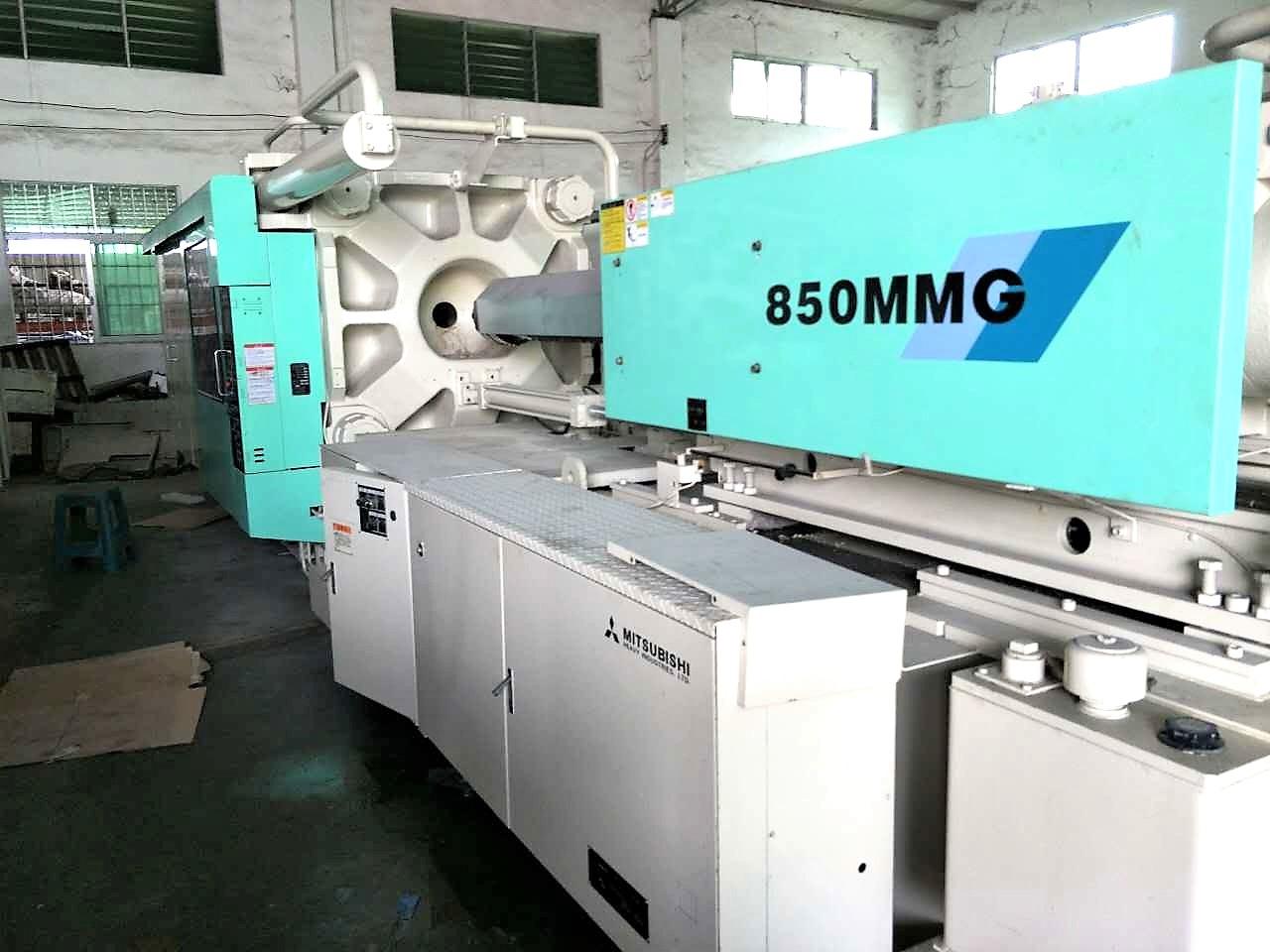 Mitsubishi 850t (850MMIII) used Injection Molding Machine Featured Image