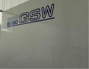 Toshiba IS550GSW (breet Platen) benotzt Injektioun Molding Machine