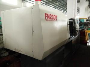 Nissei FN2000 (120t) გამოიყენება ინექციის ჩამოსხმის მანქანა