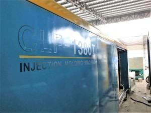 Chuan Lih Fa CLF-1380 ያገለገለ መርፌ ማተሚያ ማሽን