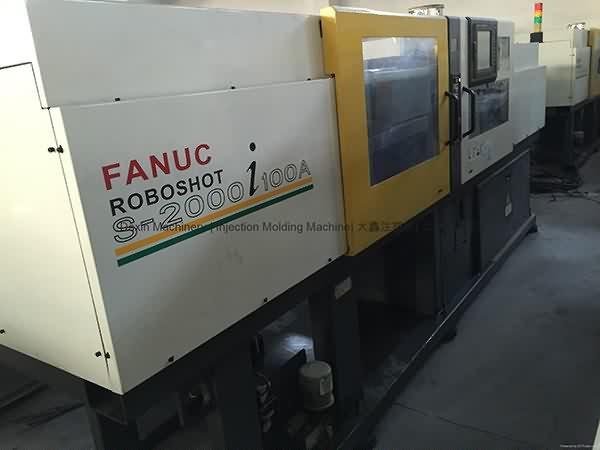 Fanuc 100t All-Electric amfani Allura Molding Machine
