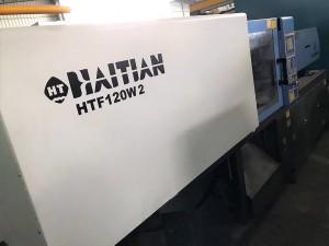 ປະເທດ Haitian 120t HTF120W2 ໄດ້ໃຊ້ເຄື່ອງສີດພາດສະຕິກ