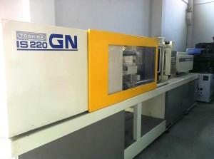 توشیبا IS220GN انجکشن مولڈنگ مشین استعمال کرتی ہے
