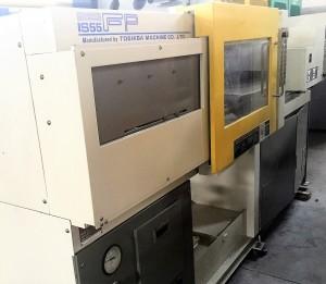 توشیبا 55 ٹی (آئی ایس 55 ایف پی) استعمال شدہ انجکشن مولڈنگ مشین