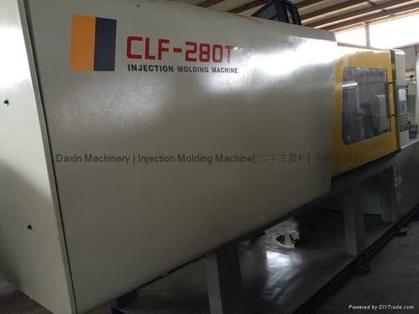 چوان لیہ فا سی ایل ایف - 280 ٹی استعمال شدہ انجکشن مولڈنگ مشین