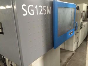Lebelo le phahameng la mochini oa Sumitomo 125t SG125M le phahameng le sebelisoang ho kenya Injection Molding Machine