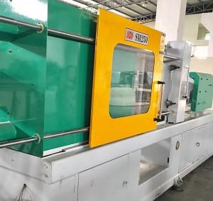 ચેન સોંગ સુપરમાસ્ટર 250 ટી (એસએમ 250) એ ઈન્જેક્શન મોલ્ડિંગ મશીનનો ઉપયોગ કર્યો
