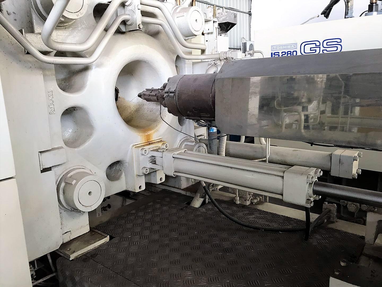 Toshiba 280t (Servo motor) იყენებდა პლასტიკური ინექციის ჩამოსხმის მანქანას