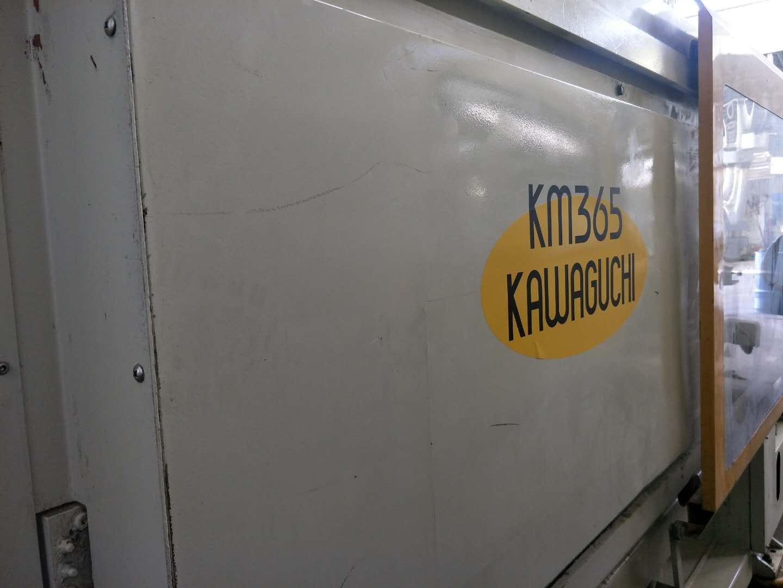Kawaguchi 365t (servo) used Injection Molding Machine Featured Image