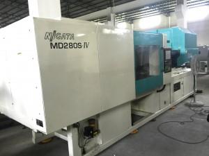 Niigata 280t All-Electric amfani Allura Molding Machine