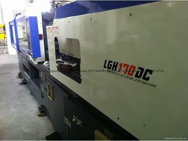 LG 170t LGH170DC ორი ფერით გამოიყენება ინექციის ჩამოსხმის მანქანა