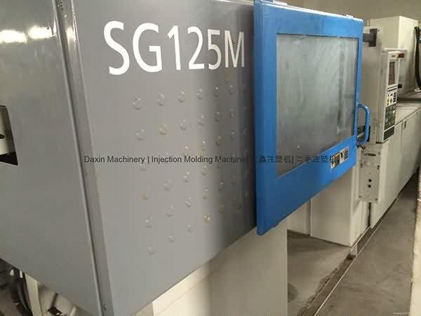 سوميتومو SG125M المستخدمة حقن صب الآلة (سرعة عالية)