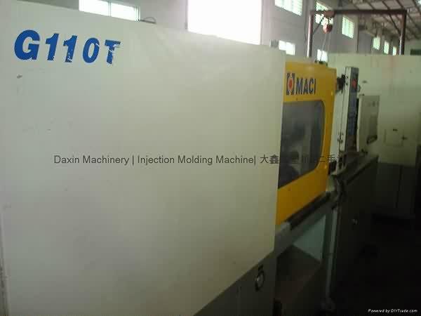 HungTai 110t इस्तेमाल किया इंजेक्शन मोल्डिंग मशीन