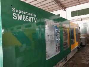 Taiwan CH Supermaster SM850TV (servo motor mpya) ilitumia Mashine ya Kuunganisha sindano
