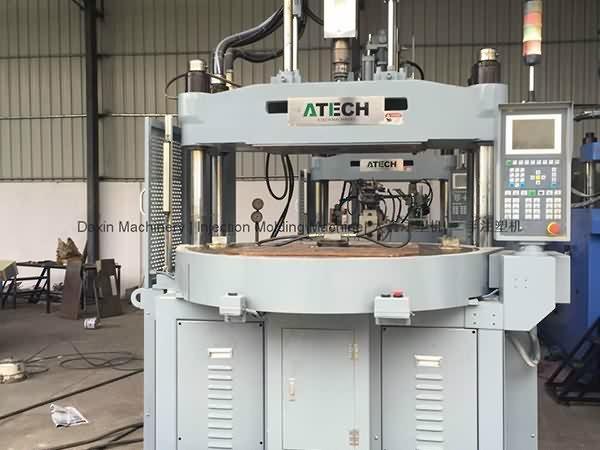 اسٹیک 120 ٹی (روٹری ٹیبل) عمودی انجکشن مولڈنگ مشین استعمال کی گئی