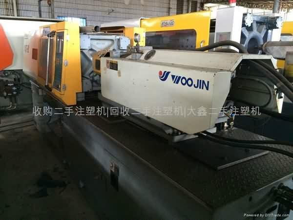 Kore Woojin 120T kullanılan Enjeksiyon Makinesi