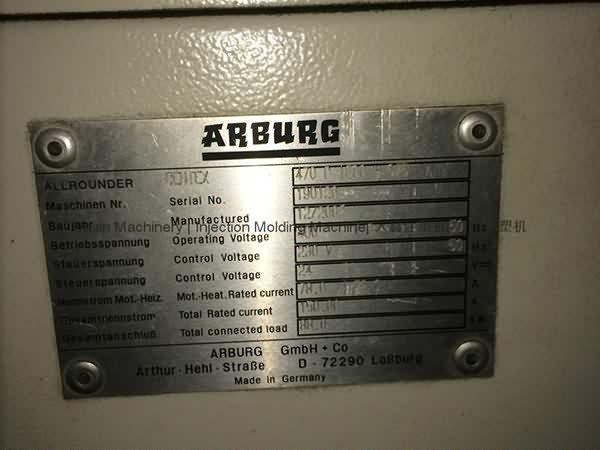 Arburg 160t used Injection Molding Machine