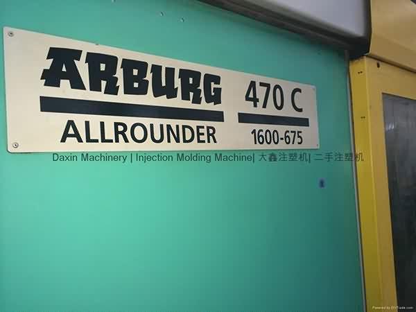 Arburg 160t hoʻohana ka pahu kui mōlina Maker